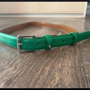 Green Ralph Lauren Belt M NEW
